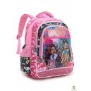 Школьный рюкзак Monster High розовый