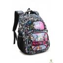 Школьный рюкзак Monster High черный